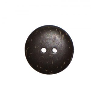 Two Hole Coconut Button 22mm